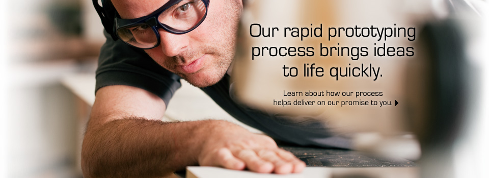 Our rapid prototyping process brings ideas to life quickly.