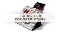 Bauer LCD Counter Kiosk